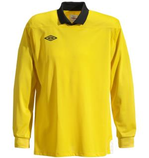 UMBRO Cosmos GK Jsy Gul/Sort XL Keepertrøye med lang arm
