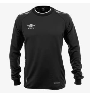 UMBRO UX-1 Trn Sweater jr Sort/Hvit 164 Teknisk treningsgenser