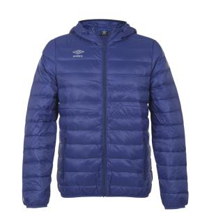 UMBRO Core Down Jacket jr Blå 128 Myk og deilig dunjakke for barn