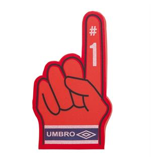 UMBRO Norway big hand  Rød 0 Norge supporter produkt