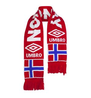 UMBRO Norway scarf  Rød 0 Skjerf  for supporteren