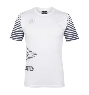 UMBRO Core Training Tee j Hvit 140 Teknisk treningstrøye til junior