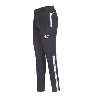 UMBRO UX Elite Pant Reg j Sort/Hvit 140 Treningsbukse i normal passform